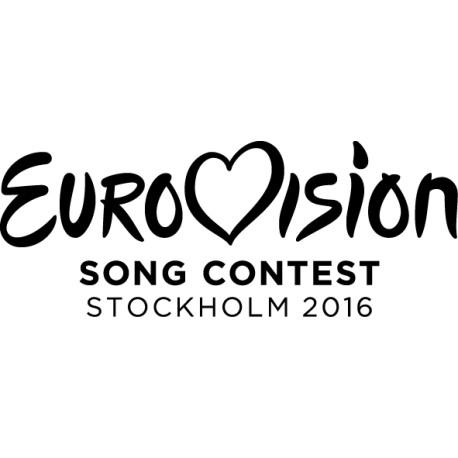 Pegatina Eurovisión 2016