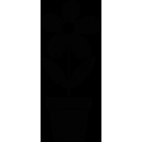 Vinilo decorativo maceta