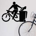 Pegatina yo uso bici