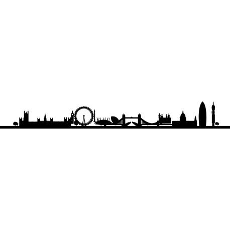 Vinilo skyline Londres