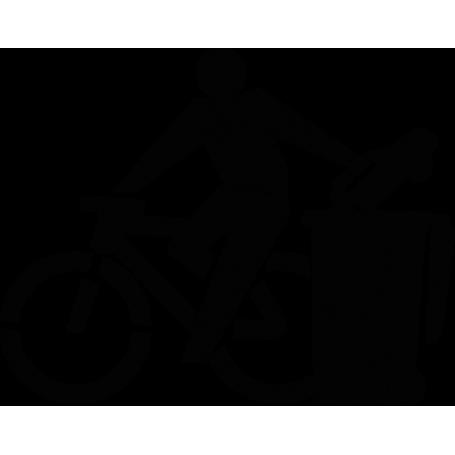 Adhesivo yo uso bici