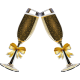 Vinilo decorativo brindis