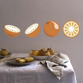 Vinilos naranjas