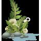 Vinilo decorativo exótico floral