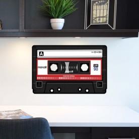 Vinilo cassette