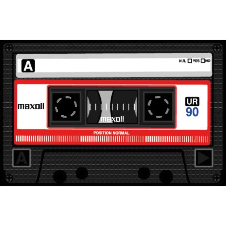 Vinilo decorativo cassette