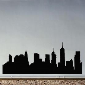 Vinilo skyline Brooklyn