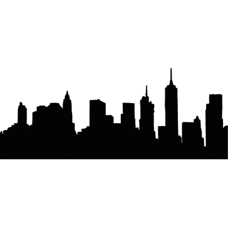 Vinilo decorativo skyline Brooklyn