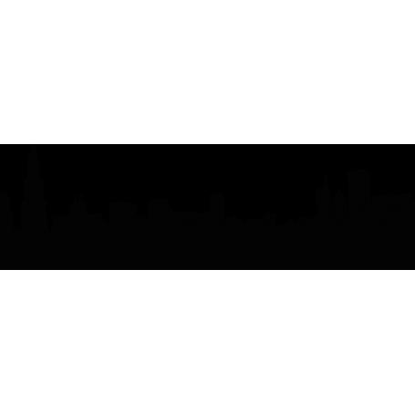Vinilo decorativo silueta Chicago