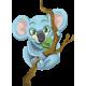 Vinilo decorativo infantil koala