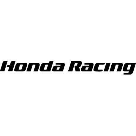 Pegatina Honda Racing