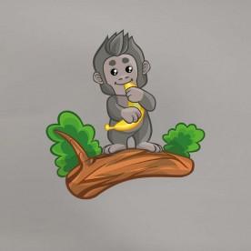 Vinilo mono plátano