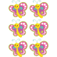 Stickers pegatinas infantiles mariposas