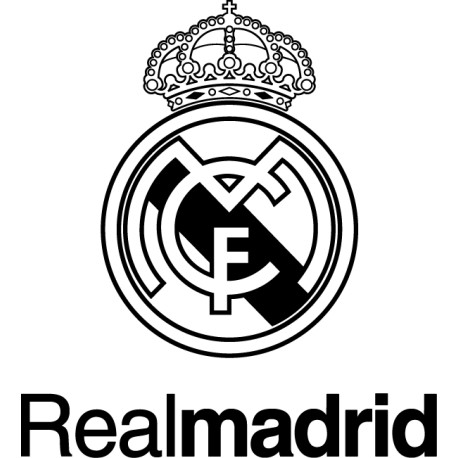 Pegatina Real Madrid