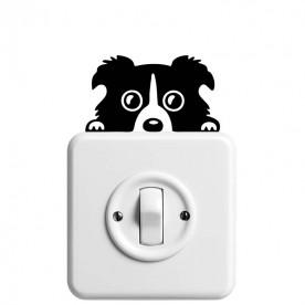 Vinilo interruptor perro