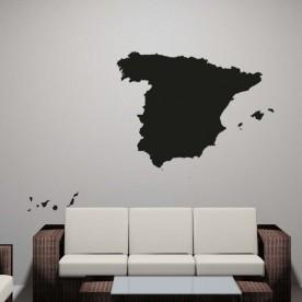 Vinilo decorativo mapa España