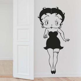 Vinilo pared Betty Boop