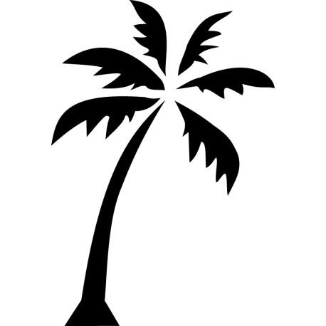 Vinilo decorativo palmera