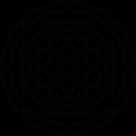 Vinilo pared círculo étnico