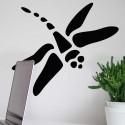 Pegatina libélula