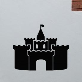 Vinilo castillo medieval
