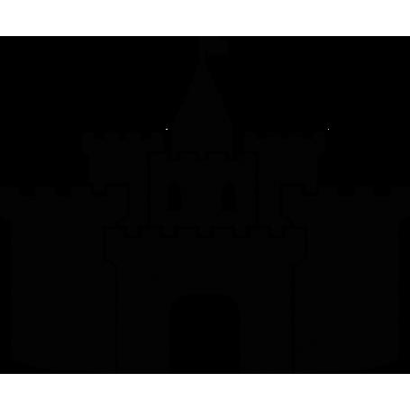 Vinilo infantil castillo medieval