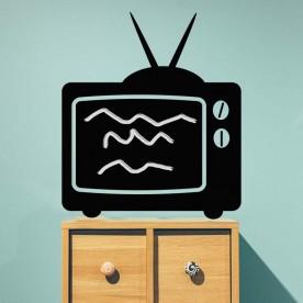 Vinilo pizarra televisión