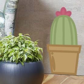 Vinilo cactus ilustración