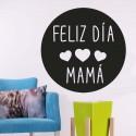 Vinilo feliz día Mamá