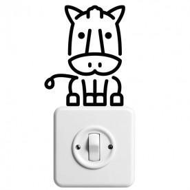 Vinilo interruptor vaquilla
