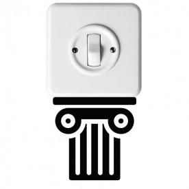 Vinilo interruptor columna