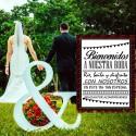 Vinilo bienvenidos boda