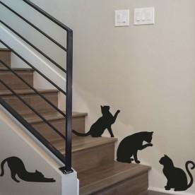 Vinilos gatos