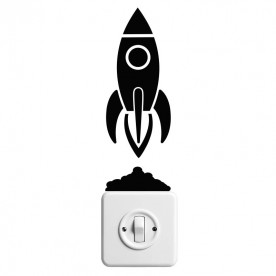 Vinilo interruptor cohete