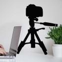 Vinilo cámara de fotos
