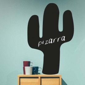 Vinilo pizarra cactus