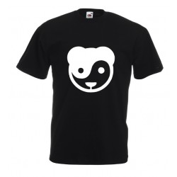 Camiseta panda yin yang