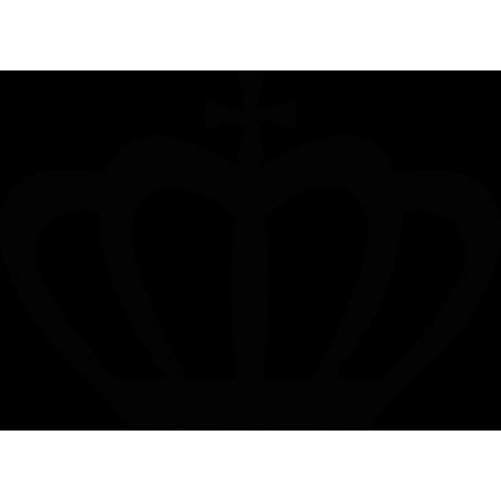 Vinilo decorativo corona rey