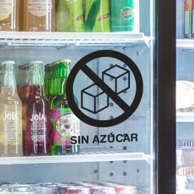 Pegatina sin azúcar