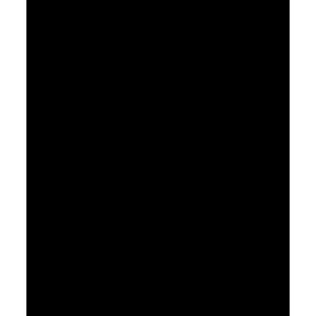 Pegatina de vinilo señal sin azúcar