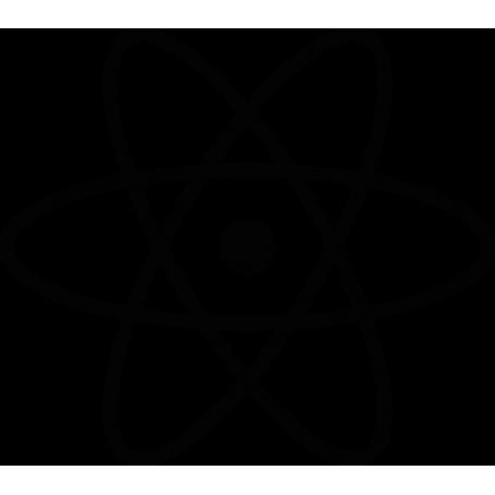 Vinilo para puerta símbolo átomos