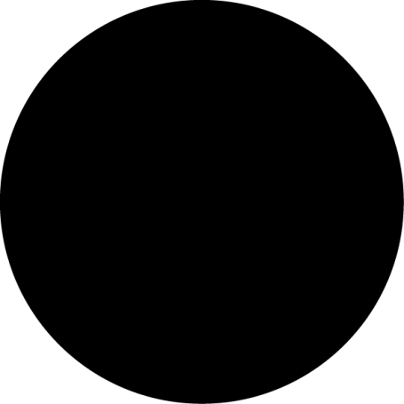 Vinilo adhesivo pizarra forma redonda