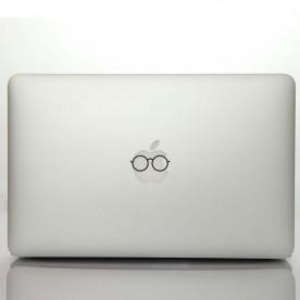 Pegatina portátil gafas redondas