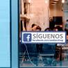 Pegatina Facebook personalizable