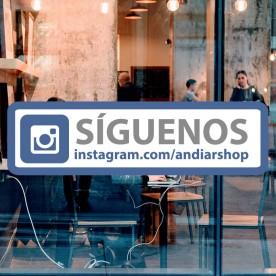 Pegatina Instagram personalizable