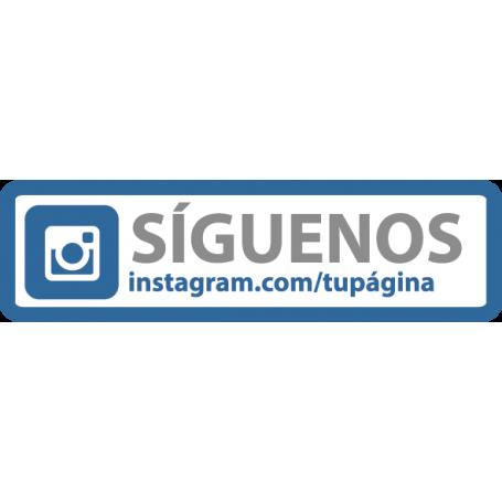 Vinilo Instagram personalizable
