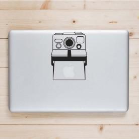 Pegatina portátil cámara