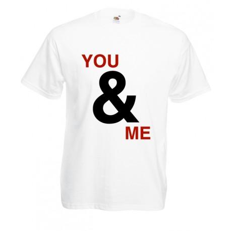 Camiseta You And Me