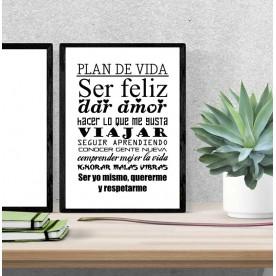 Lámina Plan de Vida