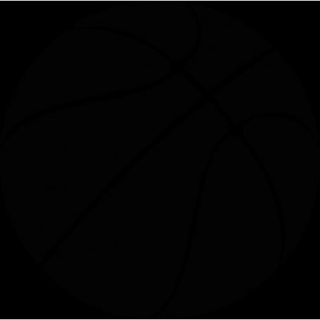 Vinilo decorativo pelota baloncesto